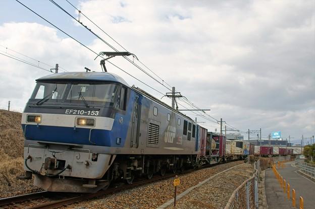 1054レ【EF210-153牽引】