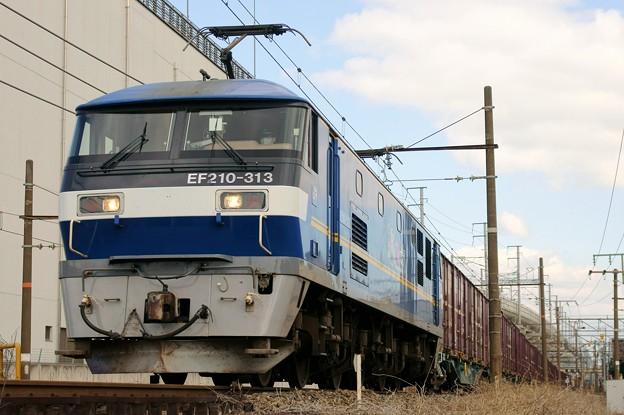 2081レ【EF210-313牽引】