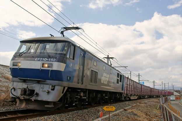 5074レ【EF210-152牽引】