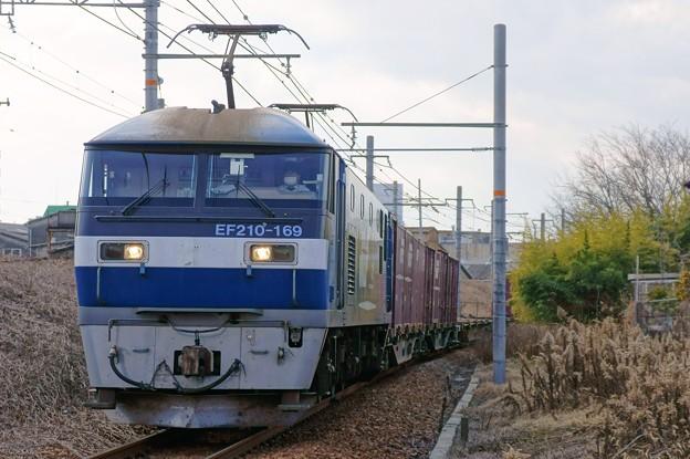 5070レ【EF210-169牽引】