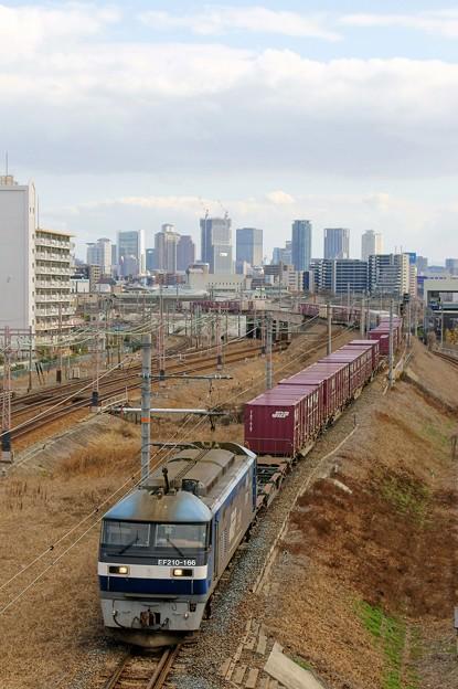 5071レ【EF210-166牽引】