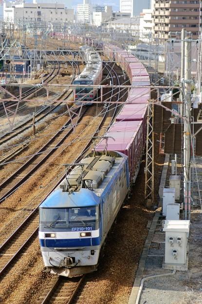 5064レ【EF210-101牽引】