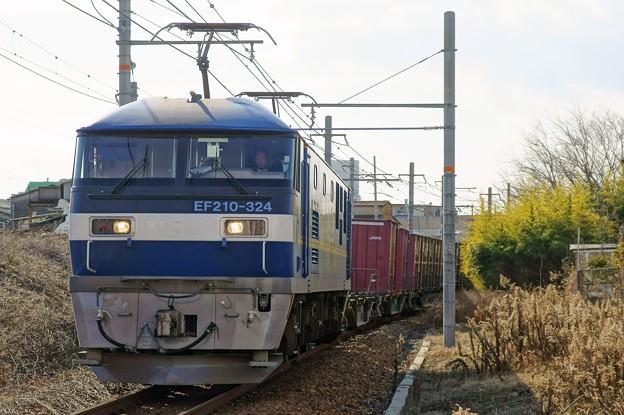 2086レ【EF210-324牽引】