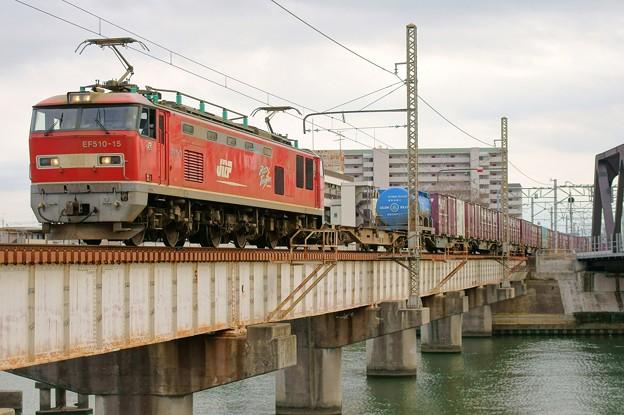 Photos: 4071レ【EF510-15牽引】