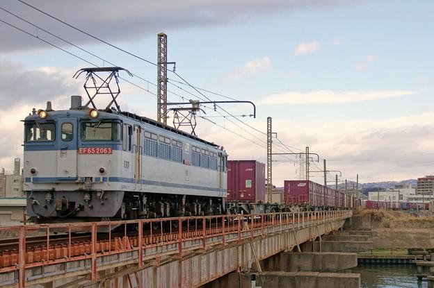 Photos: 5087レ【EF65 2063牽引】