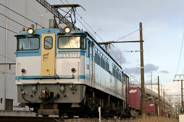 75レ【EF65 2127牽引】