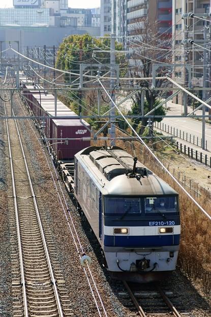 5074レ【EF210-120牽引】