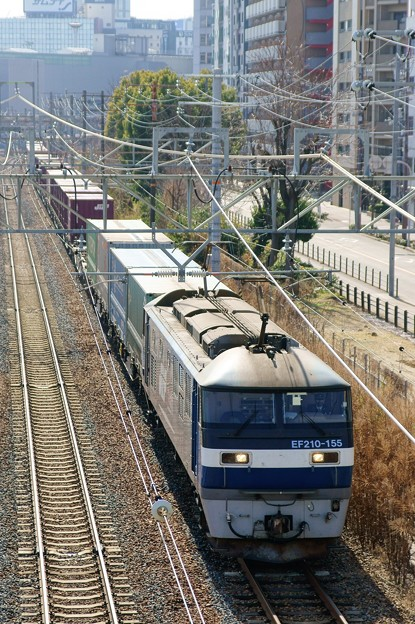 1052レ【EF210-155牽引】
