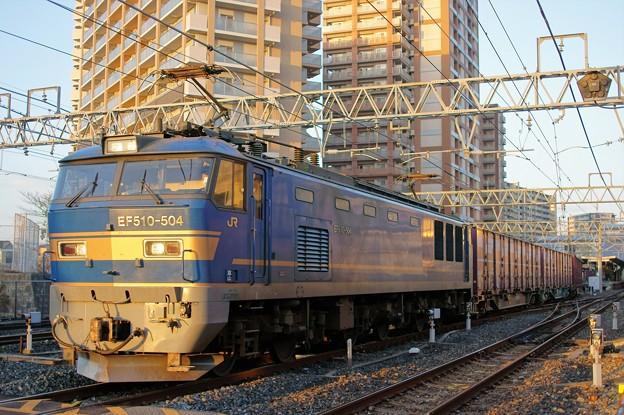 4070レ【EF510-504牽引】