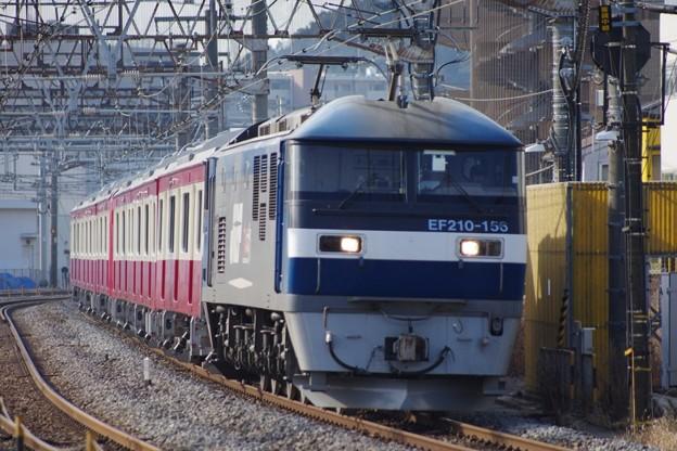 EF210 156+京急新1000形1619F 甲種輸送