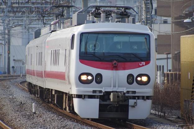 "E491系""East-iE"" 鶴見線検測送り込み回送"