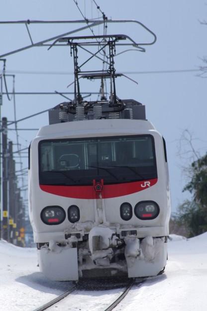 """E491系""""East-iE"""" 羽越本線検測(後追い)"""