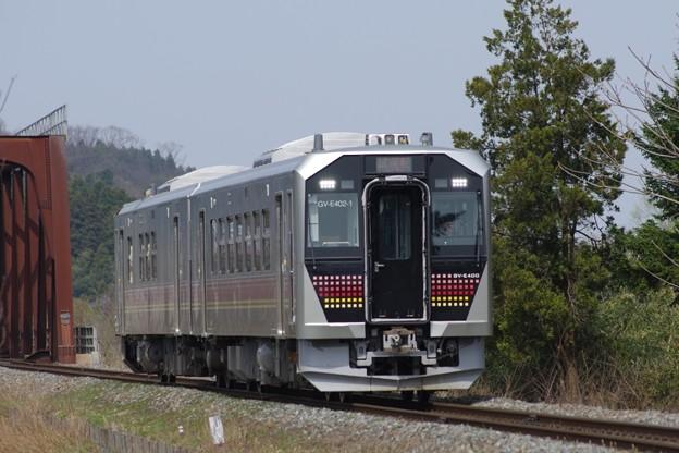 GV-E400系2両(GV-E402-1・GV-E401-1) 試運転