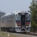 写真: GV-E400系2両(GV-E402-1・GV-E401-1) 試運転