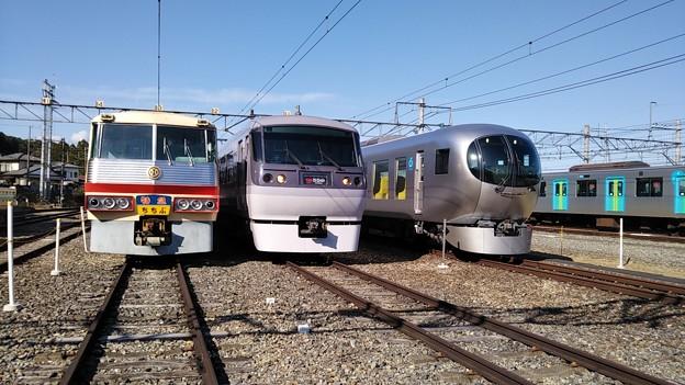 西武横瀬車両基地公開イベントに行って来ました