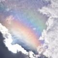 写真: 虹色