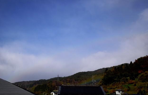 ひそかにダブルな虹♪