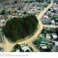 写真: air view (miniature, 2007-07-11)