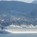写真: コスタ・セレーナが入港しました