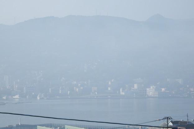 写真: 濃霧 3