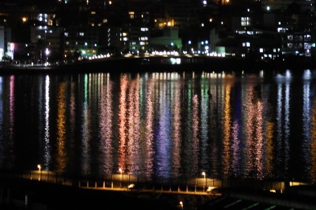長崎港の虹?
