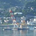 Photos: 大きなクレーン船