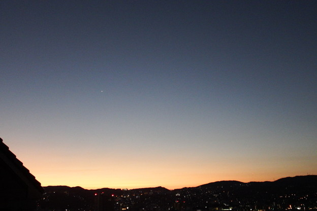 Photos: 今朝の東の空