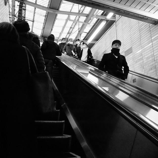 写真: 中野駅