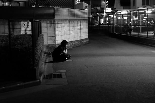 写真: 孤独のシグナル