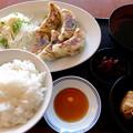 肉汁餃子定食