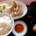 写真: 肉汁餃子定食