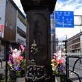 写真: 青梅街道を東に