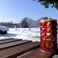 Photos: 雪見の一杯