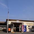 写真: やがて野上駅へ