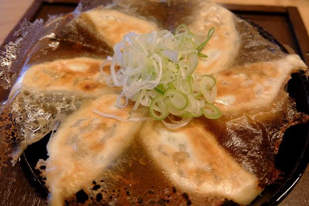 ダシ葱餃子