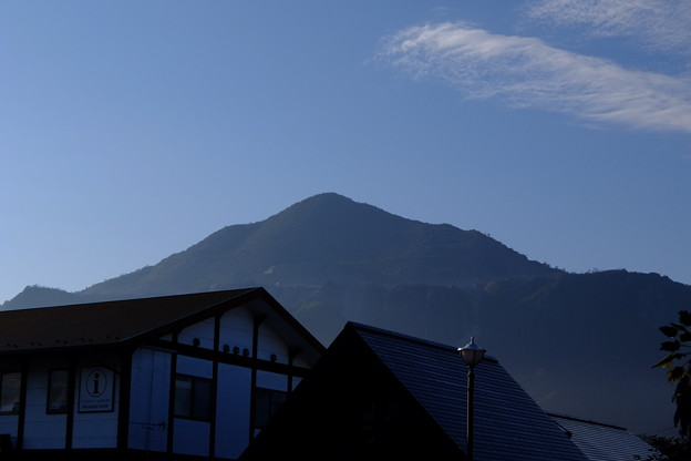 「今日の武甲山」