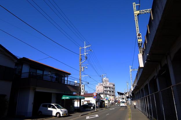 三浦海岸駅を目指す