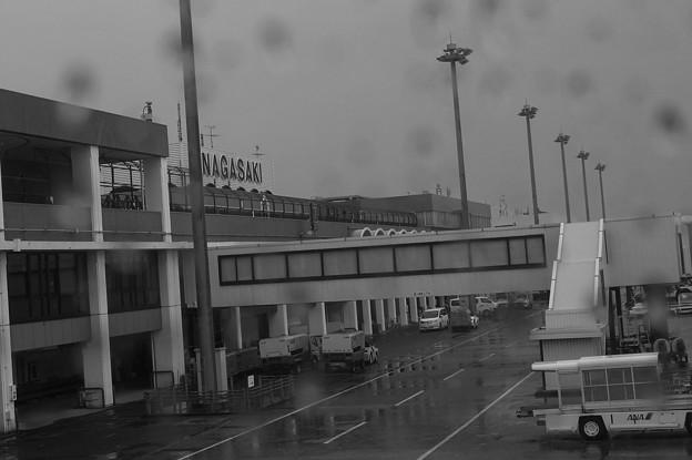 長崎は雨だった