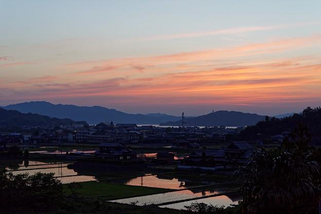 小松の黄昏