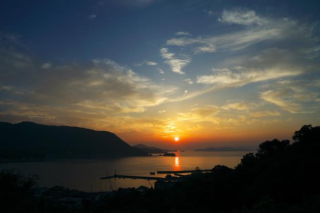 瀬戸の夕日