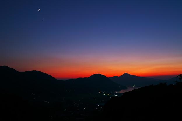 写真: 月の夜