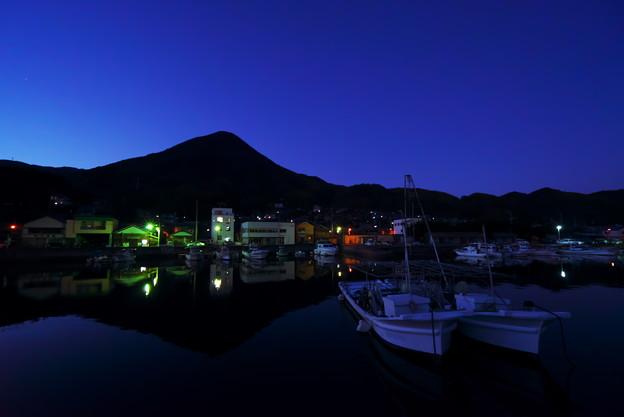 逆さ大島富士