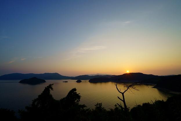 夕日の沈むころ