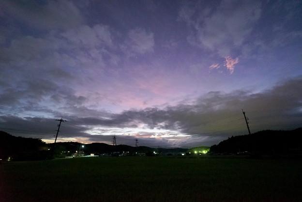 祖生の夕空