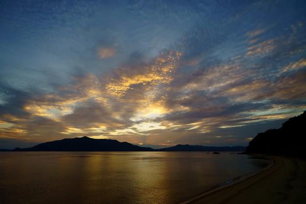津海木の夕空