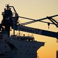 Photos: 貨物船のブリッジ 16時58分
