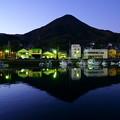 漁師町の黄昏