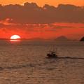 Photos: 夕陽を追いかけて