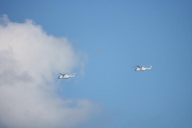 Photos: MCH-101掃海・輸送機