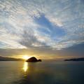 Photos: 夕陽の輝き